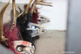 ANTLER SKULL TROPHY HEADS