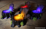 LIGHT UP/ GLOW DOLL DISPLAY STUMP CHAIR