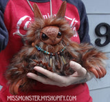 TUNA THE BABY OWLBEAR DOLL