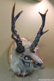 WINTER WANDERER- OOAK WALL SCULPTURE