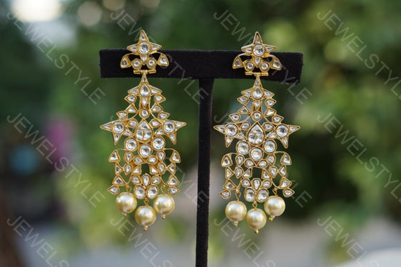 Kundan earrings(preorder p)