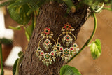 Kundan earrings(Preorder)