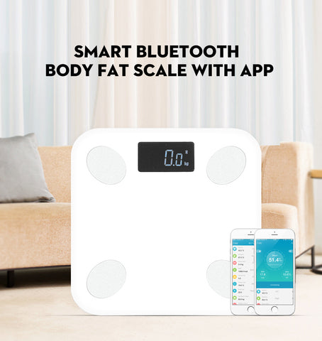 Bluetooth Smart Body Fat Scale for iPhone and Android