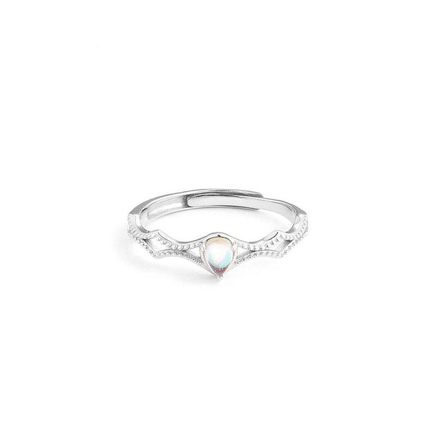 Princess Matching Couples Promise Sterling Silver Adjustable Rings