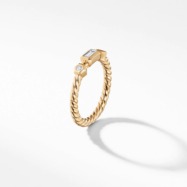 anillo de spiral 14k gold plated sterling silver gemstone ring