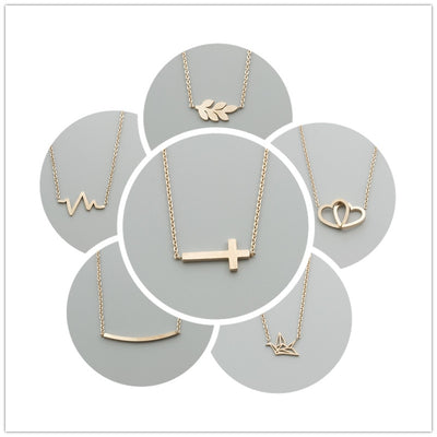 Stainless Steel Fun Shaped Necklaces Variety