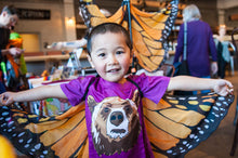 Load image into Gallery viewer, Kids' Monarch Wings & Mask