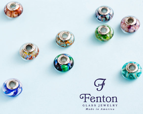 Fenton Glass Beads
