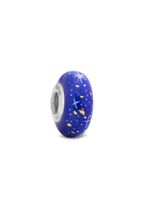 """Star of Wonder"" Hand Decorated Glass Bead"