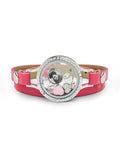 "Elvis ""Heartthrob"" Floating Charm Wrap Bracelet"