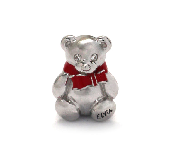 Elvis Teddy Bear Charm with Insignia