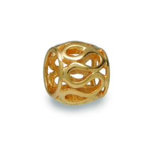 Golden Gates Spacer Bead