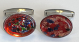 Hand Crafted Glass Cufflink