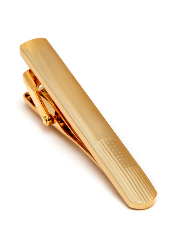 Gold Plated Tie Bar