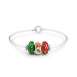 """December"" Heartstrings Bracelet - Fenton Glass Jewelry - 2"