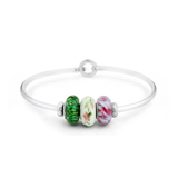 """January"" Heartstrings Bracelet - Fenton Glass Jewelry - 2"