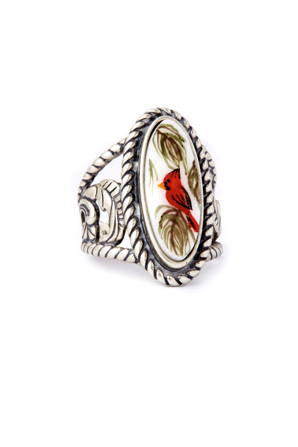 Cardinal Beauty Ring
