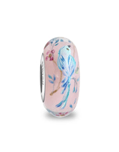 "2019 ""Mountain Bluebird"" Fenton Loyalty Program Bead"