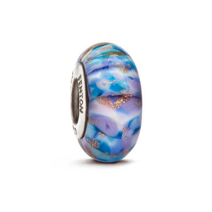 """Northern Lights"" Glass Crafted Bead - Fenton Glass Jewelry"