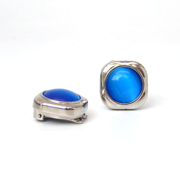 Cobalt Stone Squared Button Covers
