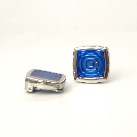 Rhodium Plated Cobalt Button Covers