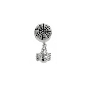 """Spooky Spider"" Spacer Charm"