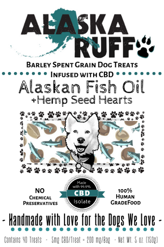 Alaskan Fish Oil + Hemp Seed Hearts