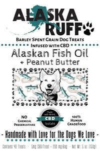 CBD Infused Alaskan Fish Oil + Peanut Butter