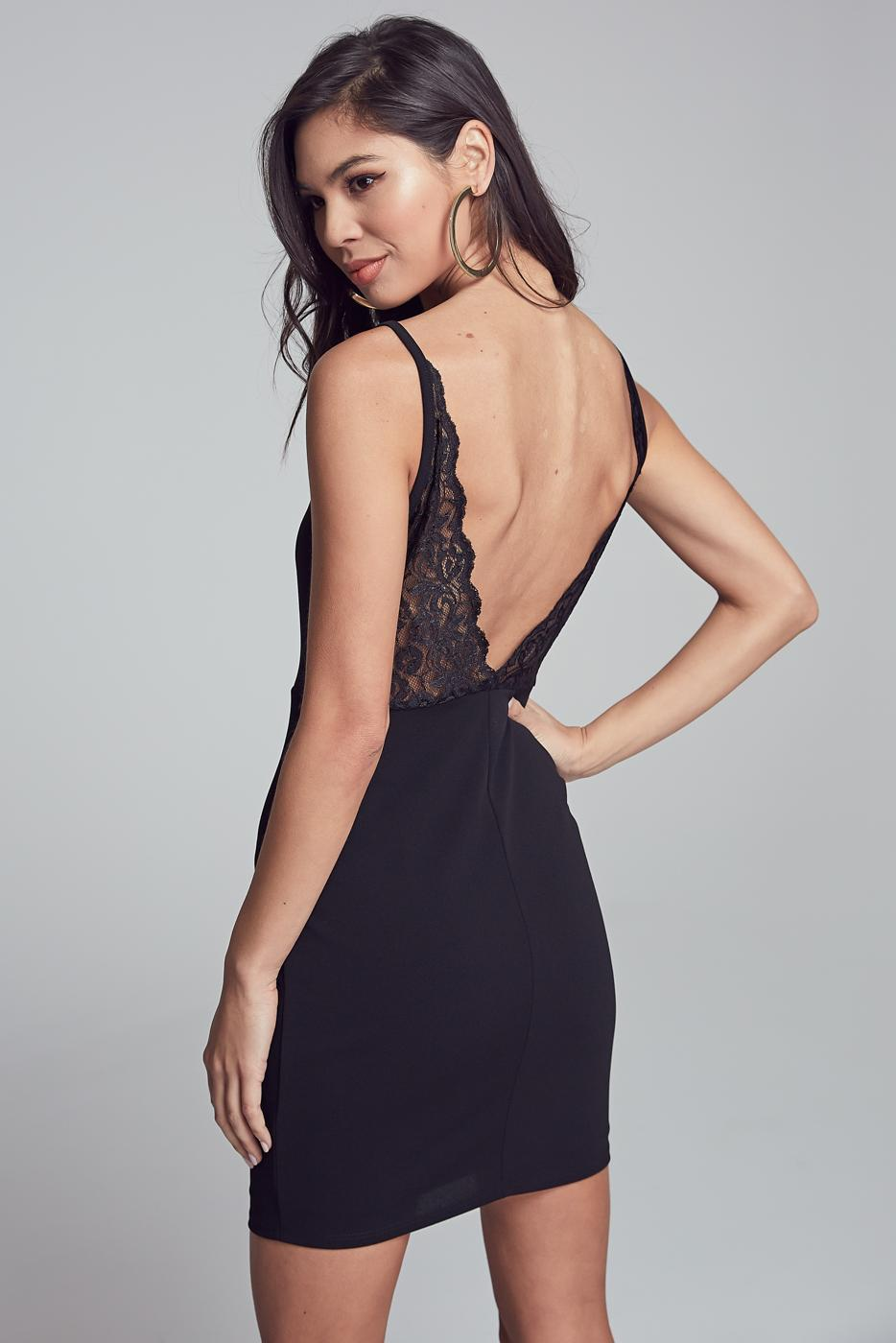 Ella Lace Bodycon Dress