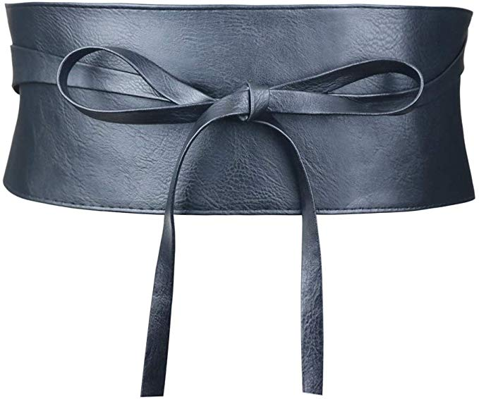 Black Corset Wrap Belt