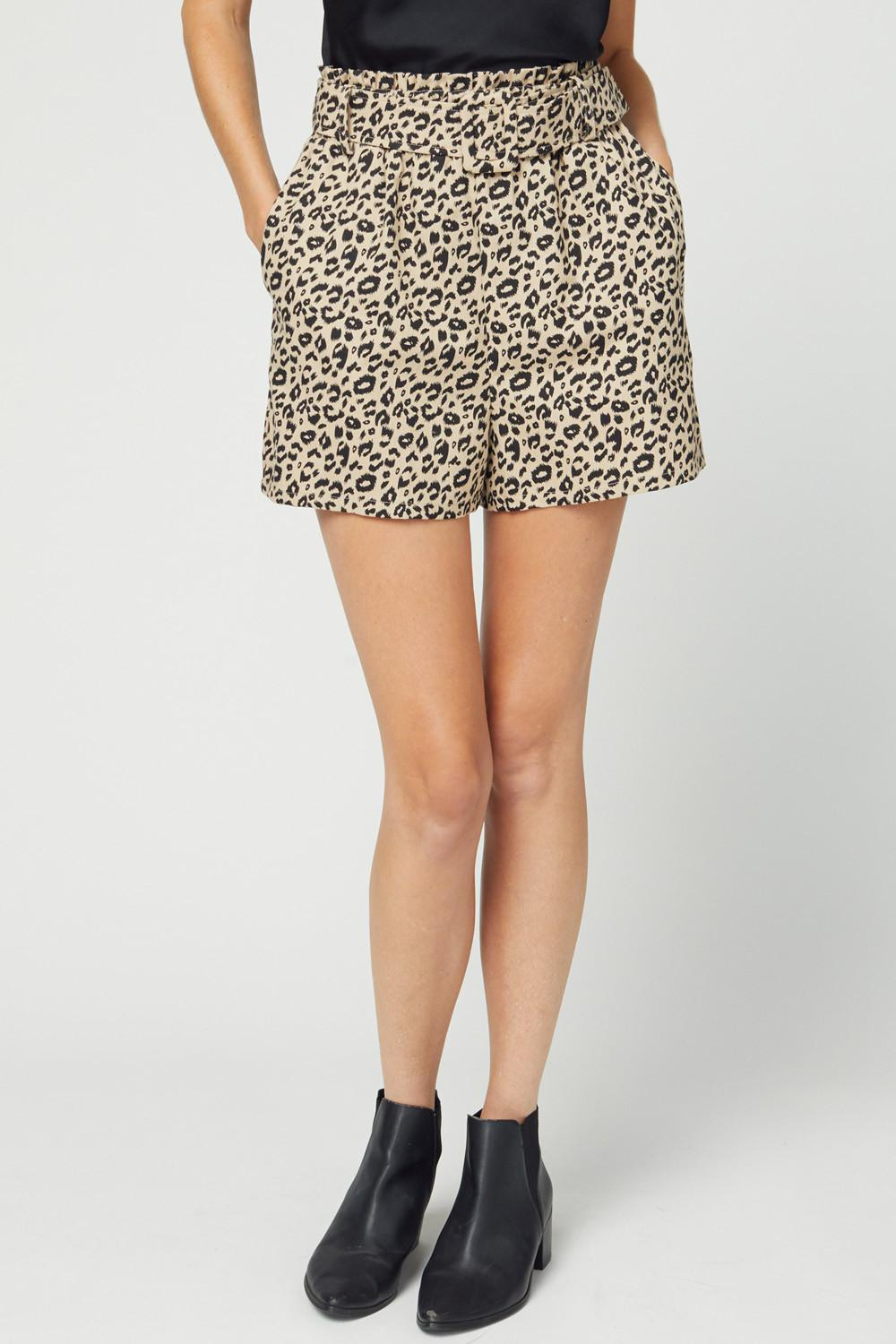 Wild Business High Waisted Dress Shorts