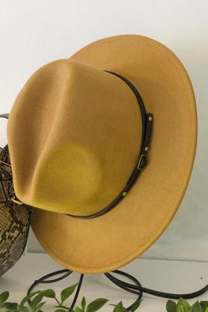 Wild West Hat - Camel
