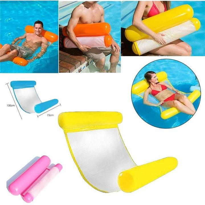 Aqua Inflatable Hammock Portable Pool Float