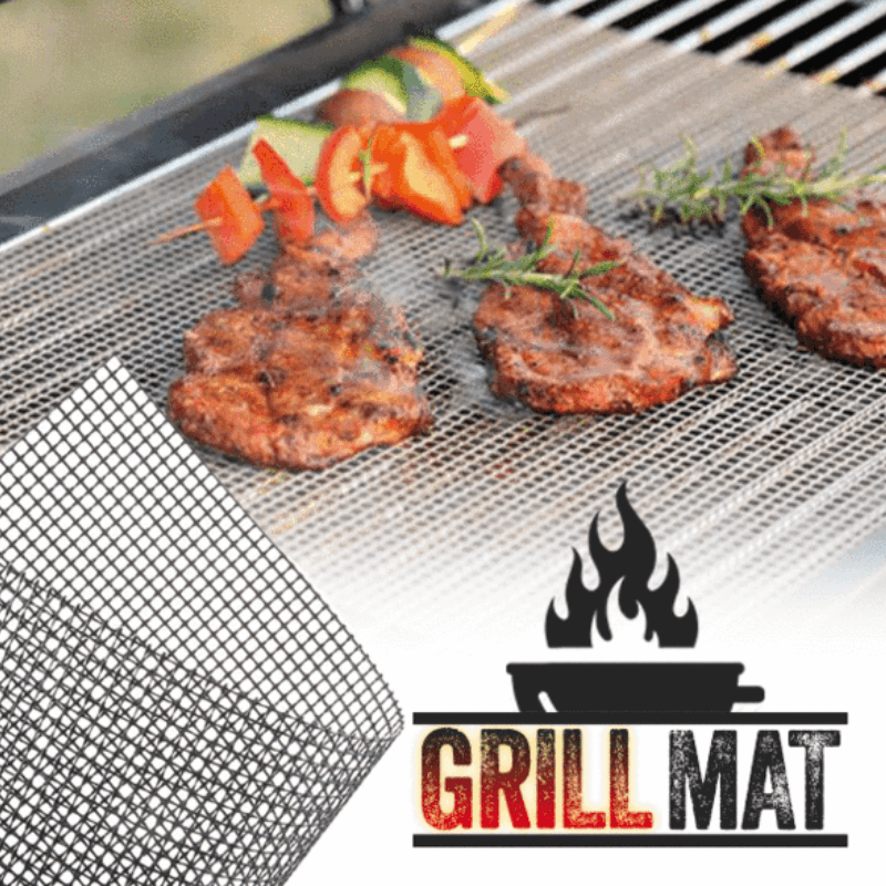 🔥Buy 3 Get 1 Free🔥NON-STICK BBQ GRILL MAT