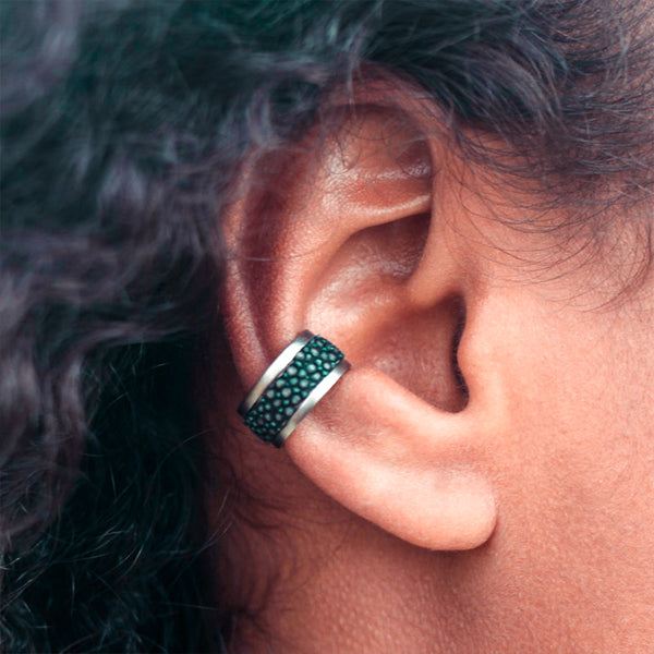 ASTA ear cuff, stingray