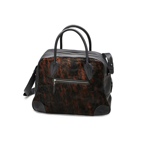 DAGMAR travel bag, fur