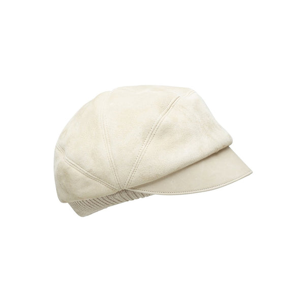 FREDDY cap, sheep fur, beige