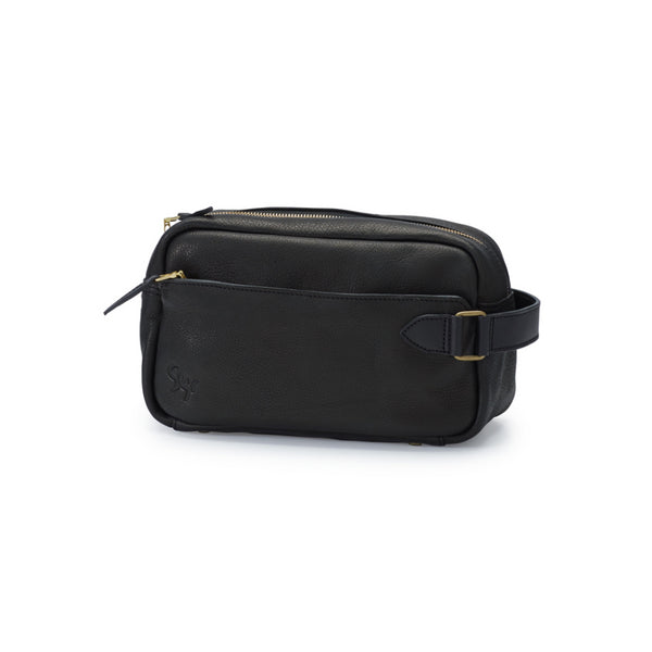 GORM veg, toiletry bag, black