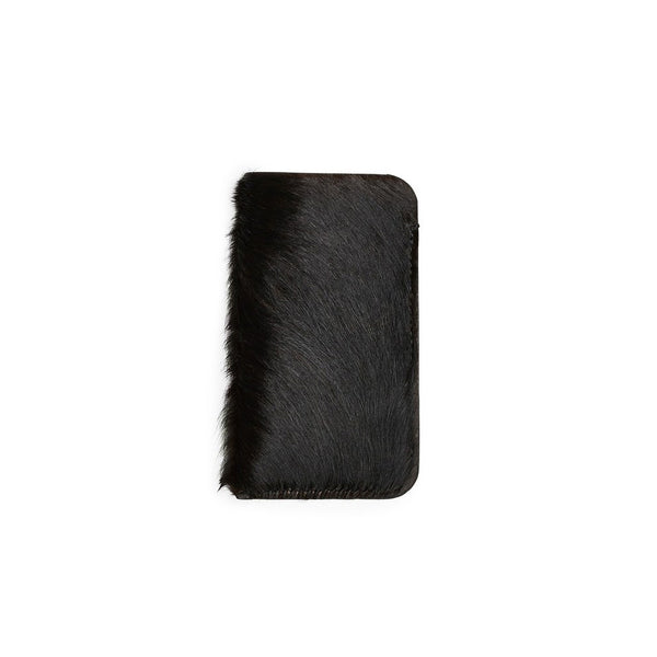 HARALD iPhone cover, fur, black