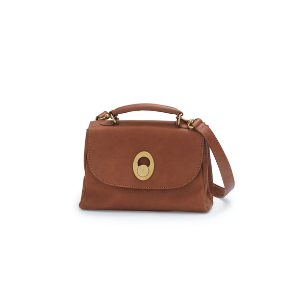 HILDE handbag large, marron