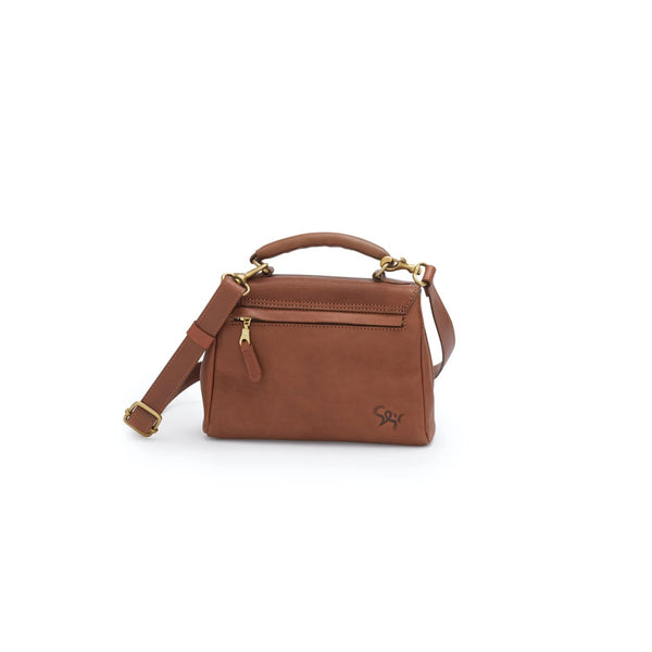 HILDE handbag, marron