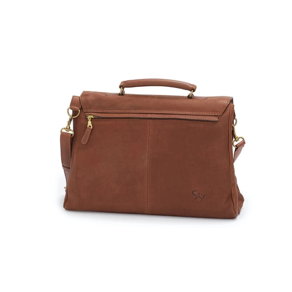 HILDE workbag, marron