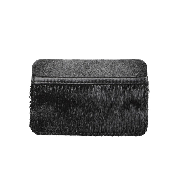 LIBERTY cardholder, seal fur, black