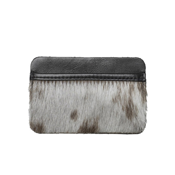LIBERTY cardholder, seal fur, natural