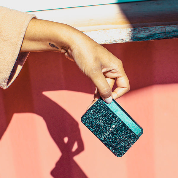 LIBERTY cardholder, stingray