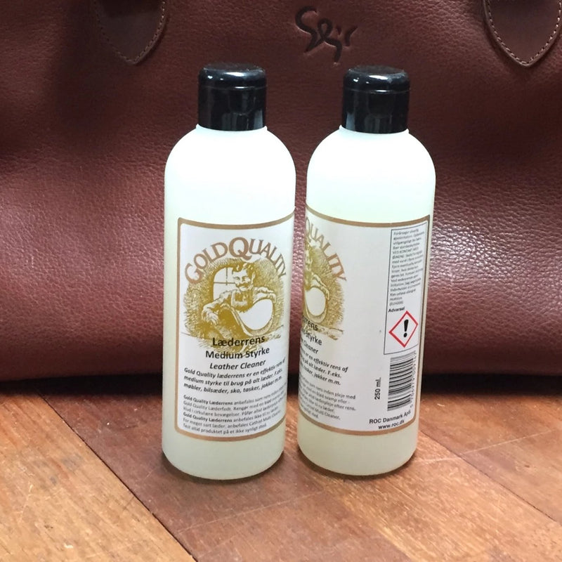 Leather cleaner medium, Gold Quality