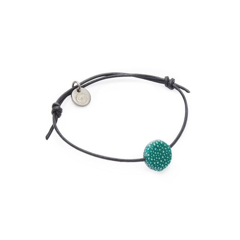 SIF bracelet, raw, green