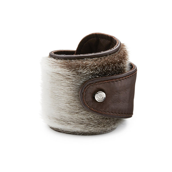 SIGRID bracelet, seal natural, brown
