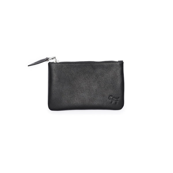 ZIP purse, small, black