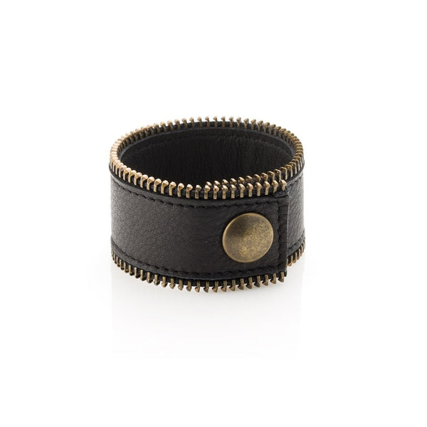ZIPPER bracelet wide